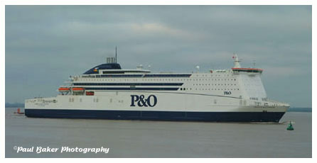 Paul Baker Photography - P&O North Sea Ferries